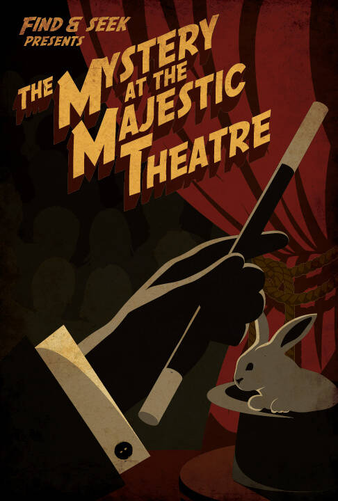 escape room poster majestic theatre