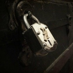 Majestic Theatre Escape Room Chest And Lock